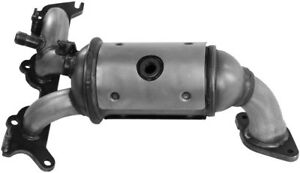Exhaust Manifold with Integrated Catalytic Converter Rear Walker 16629