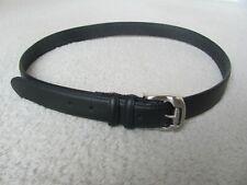 Wrangler Men's Black Leather Belt Size 40-42