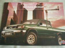 Nissan Pickup brochure Mar 1998 Swiss market German, Italian & French text