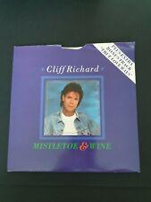 """Cliff Richard Mistletoe And Wine/ Marmaduke 7"""" vinyl  Bonus Track True love ways"""
