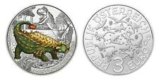3 euro Austria 2020 – Ankylosaurus Magniventris / Coloured