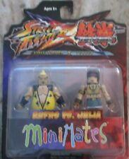 2012 Street Fighter / Tekken Rufus vs Julia Minimates Capcom Diamond Select