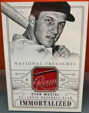 Stan Musial Laundry Tag 1/1 2014 Panini National Treasures