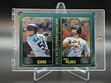 Albert Pujols Ichiro Suzuki 2001 Topps Chrome Traded Rookie Card #t99 Future HOF
