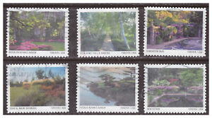 United States, 5461-70, USED, 2020, FVR American Gardens, Set of 10