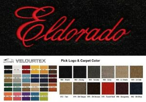 1967 Cadillac Eldorado Die-Cut Door Panel w//o Cardboard 2-Pieces Loop Carpet!