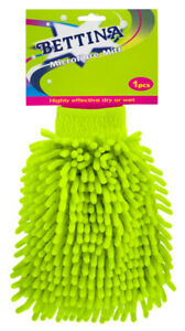 Bettina Microfibre Mitt - Highly Effective Dry Or Wet.