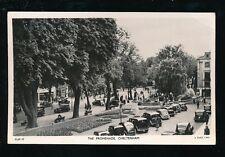 Glos Gloucestershire CHELTENHAM The Promenade busy street scene 1955 RP PPC Tuck