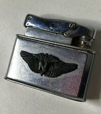 Vtg FBELO MONOPOL Lighter Military Airforce Nurse Monnogrammed KAY VTG VIETNAM