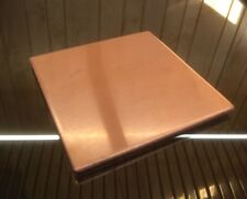 """1/8"""" COPPER SHEET PLATE NEW 4""""x4"""" .125 THICK *CUSTOM 1/8 SIZES AVAILABLE*"""
