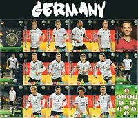 PANINI ADRENALYN XL UEFA EURO 2020 GERMANY FULL 18 CARD TEAM SET - EUROS