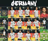 PANINI ADRENALYN XL UEFA EURO 2020 GERMANY FULL 18 CARD TEAM SET - EUROS