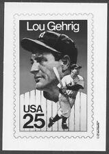 #2417 25c Lou Gehrig Stamp Publicity Photo Essay