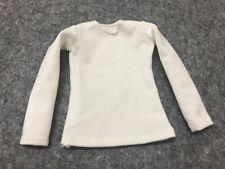 "1/6 Scale white long underwear T-shirt F 12 "" Figure Toy"