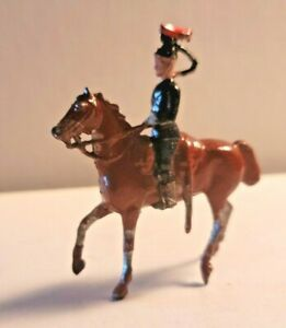 SOLDIER ON HORSE #2 CHERILEA CRESCENT BRITAINS TIMPO JOHILLCO