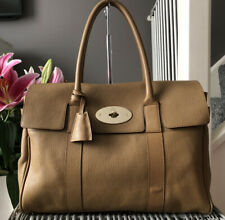 Lovely Genuine Mulberry Bayswater Classic Handbag Tan Leather Bag