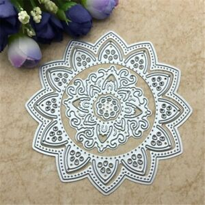 3pcs Flower Doily Metal Cutting Die Stencils Scrapbooking Embossing Decor Craft