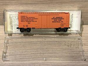 N scale Micro Trains 83-05 6th Annual International Fair Roseville, Ca 1983 NGEX