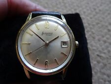 1960S ACCURIST 21 JEWELS G/PLATED AUTOMATIC WRIST WATCH, WORKING, SWISS, N0.144