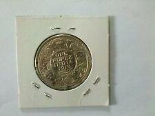 India 1918  1 Rupee