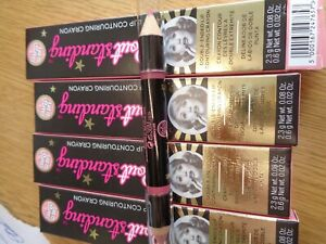 SOAP & GLORY POUT STANDING LIP COUNTOURING CRAYON X 4 BOXED FREEPOST NEW IN