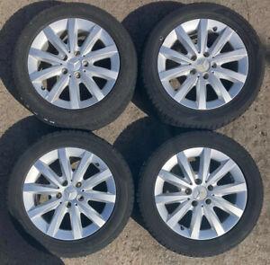 "Mercedes A B C Class W176 W246 W204 16""Alloy Wheel Set & Free Tyres A2464010202"