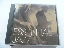 ESSENTIAL JAZZ ADAM SAUNDERS OSCAR PETERSON CD RARE LIBRARY SOUNDS MUSIC CD