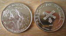 Arthus Bertrand Medaille Mont Blanc 2007 Medal Chamonix Tresors France