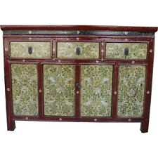 Original Painted Tibetan Sideboard Cabinet (29-039)