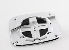 Chrome Fuel Gas Cap Cover 1p For 07 08 09 10 11 12 Hyundai i800 H1