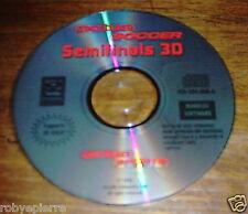 CD ROM PC ACTUA SOCCER TM SEMI FINALS 3D RAGE GREMLIN