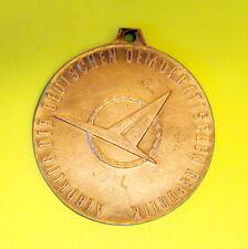 DDR Medaille in Bronze AEROCLUB DDR Mannschafts-Meisterschaft Modellflug 1971