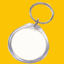 Design Your Own - Personalised Photo Custom Round Keyring  - Insert Size 45 mm