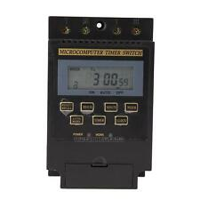 UN3F AC 220V LCD Microcomputer Timer Switch Programmable Controller KG316T