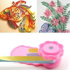 Paper Quilling Crimper Wave shaper tool Plastic Quilled Creation DIY Craft Art.#