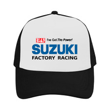 Suzuki Cap I've The Power Trucker Hat Black Exclusive Adjustable Outdoor Sun