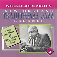 Willie Humphrey New Orleans Traditional Jazz Legends Vol 2 *NEW* *RARE IN UK*