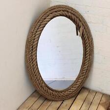 Specchi beige in legno per la decorazione della casa