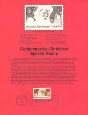 #8340 20c Santa Claus Stamp - Scott #2064 USPS Souvenir Page