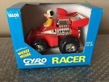 WALT DISNEY ILLCO MICKEY MOUSE GYRO POWERED RACER UNUSED IN BOX