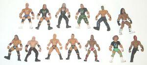 """WWE Mini Figures Lot of 12 Jakks 2"""" Tall"""