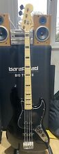 Fender Squier Standard Jazz Bass in Black 2006, Upgraded, Mods Available