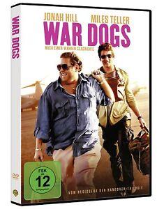 War Dogs [DVD/NEU/OVP] zweier junger US-Waffenschieber im Irak und in Albanien