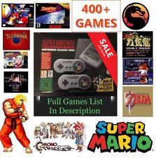 Verkauf Neu SNES Mini Konsole 🔥 400+ Spiele 🔥 Super Nintendo Klassiker Vertrauenswürdiger Verkäufer!