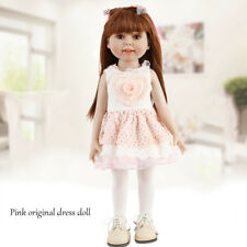 """UK 18"""" Bébé Reborn Dolls Silicone Realistic Lifelike poupée fille nouveau-né de Noël"""