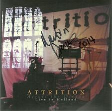 ATTRITION-ACROSS THE DIVIDE/HOLLAND LIVE 1984 CD(TWO GODS)SIGNED