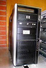 HP Z800 Workstation 2x Quad Core X5550 2.66ghz 48gb 500gb nNvidia Quadro FX5800