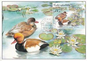 AUCT468) Maxicard Czech Republic 2008, ducks on a pond
