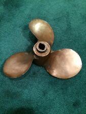 Vintage 100% Brass Boat Propeller..3 Blade,Michigan AM3 361