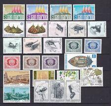 Echte postfrische Briefmarken aus San Marino als Posten & Lots